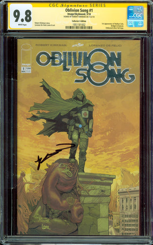Oblivion Song #1 Collector's Edition Foil CGC SS 9.8 Signed by Robert Kirkman