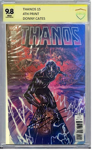THANOS #15 4TH PRINT CBCS ASP