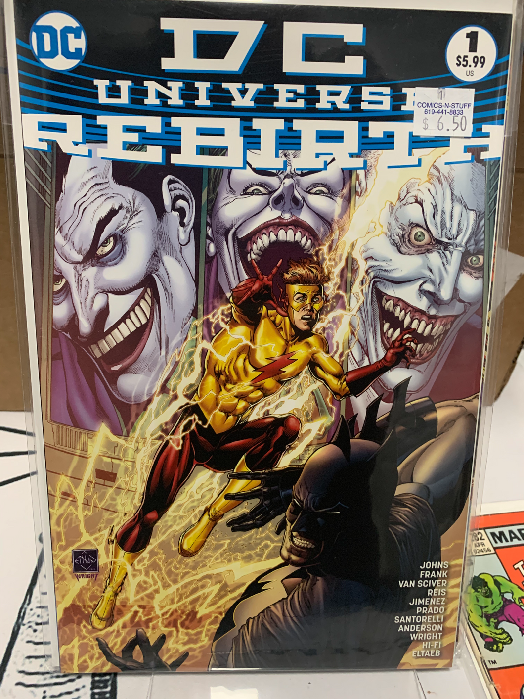 DC UNIVERSE REBIRTH #1 4TH PRINT