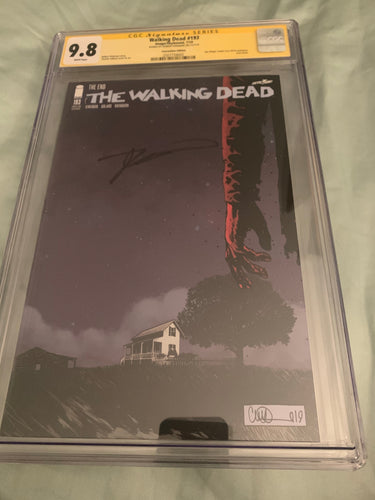 The Walking Dead #193 SDCC CGC 9.8 signed Kirkman
