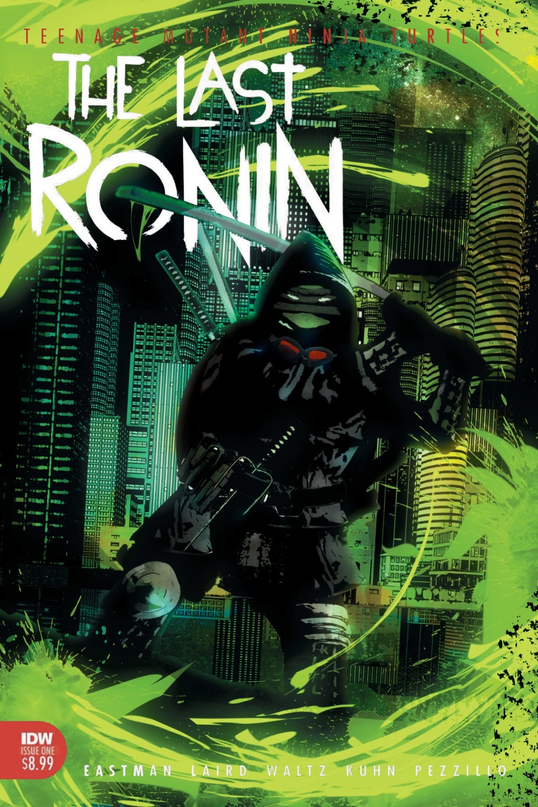 The Last Ronin #1 CGC SS Chris Callahan Remark