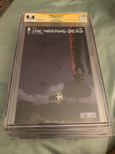 The Walking Dead #193 SDCC CGC 9.4 signed Kirkman