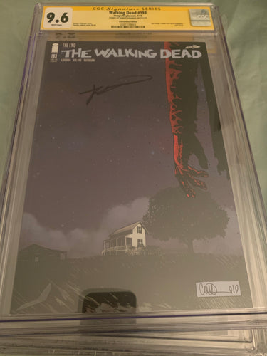 The Walking Dead #193 SDCC CGC 9.6 signed Kirkman