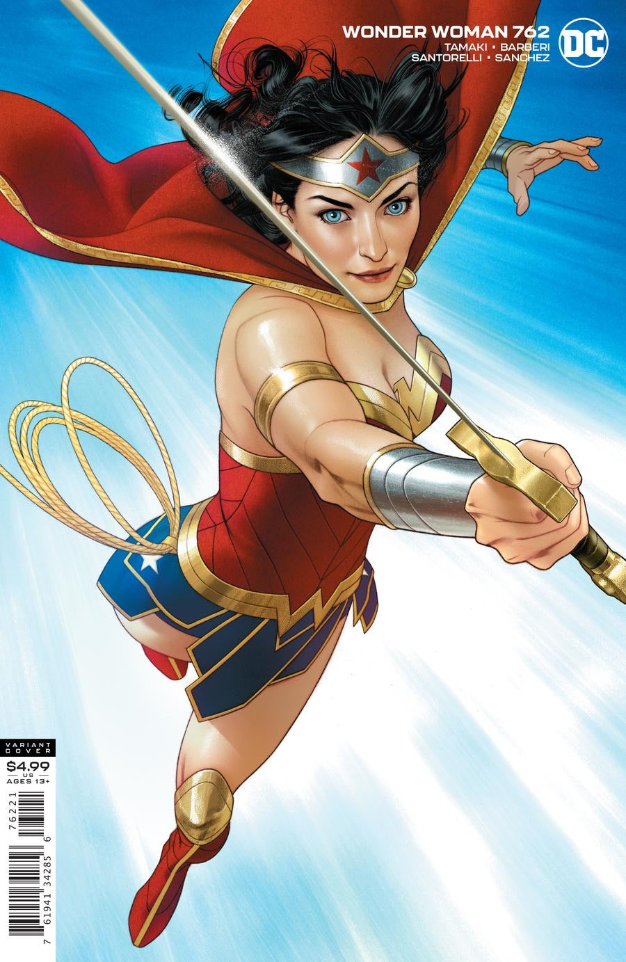 Wonder Woman #762 Cover B Middleton Card Stock