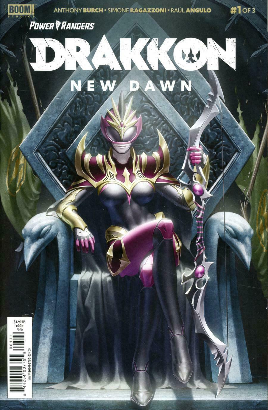 Power Rangers Drakkon New Dawn #1