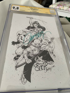 Usagi Yojimbo #1 J. Scott Campbell Sketch CGC 9.8 SS Campbell and Sakai
