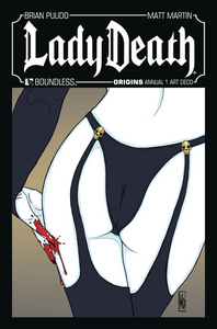 Lady Death Origins Annual #1 Art Deco Variant Cover