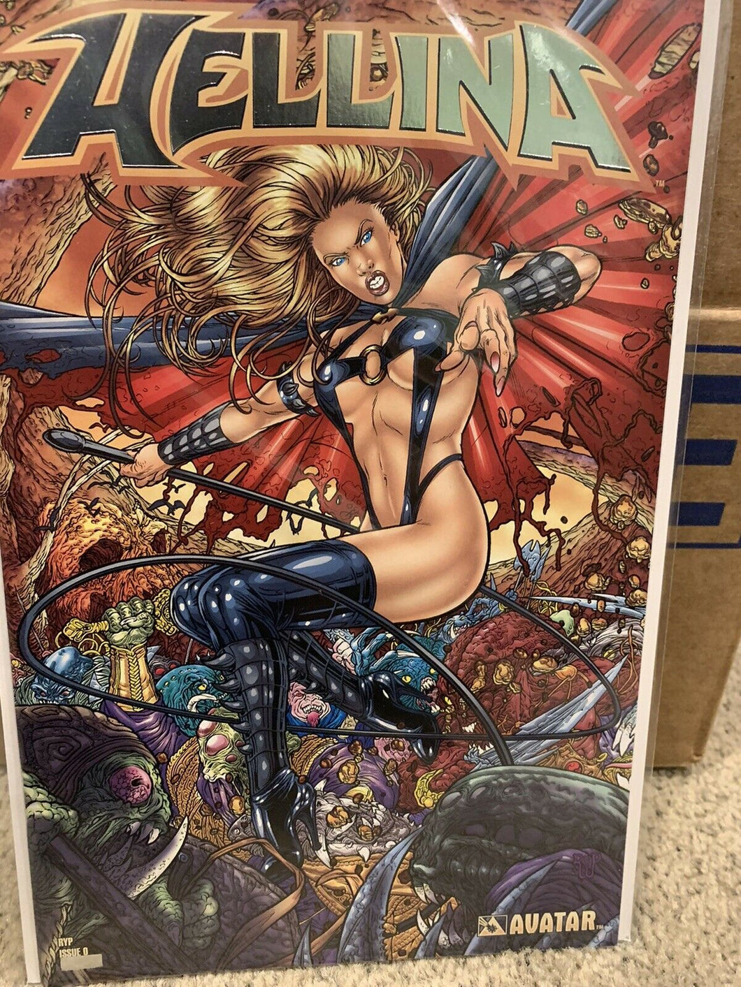 Hellina #0 H Platinum Foil Cover 1 of 400