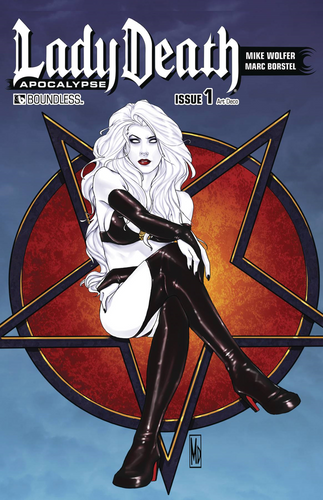 Lady Death Apocalypse #1 Art Deco Variant Cover
