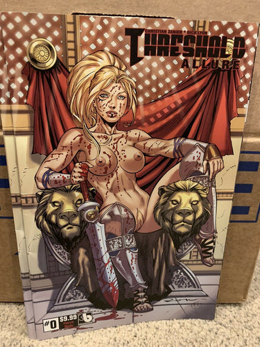 THRESHOLD: ALLURE #0 Fierce Nude Cover - KICKSTARTER EXCLUSIVE