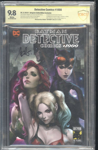 DETECTIVE COMICS 1000 Artgerm Collectibles CBCS 9.8