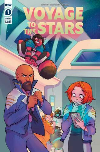 Voyage to the Stars #1 Cover B