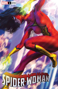 Spider-Woman #1 Artgerm