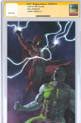 Year of the Villain Hell Arisen #3 CGC SS PreSale Cover B