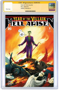 Year of the Villain Hell Arisen #3 CGC SS PreSale Cover A