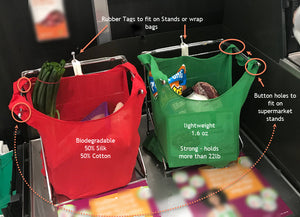 Byron Eco Bags - Set of 5 Bags