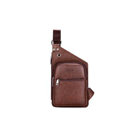 Brand Casual Leather Retro Mens Shoulder Bag