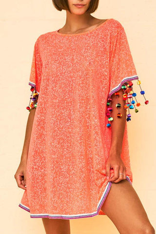 Stylish Cover Ups Vacation Dress
