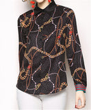 Fashion Printed Long Sleeved Shirt