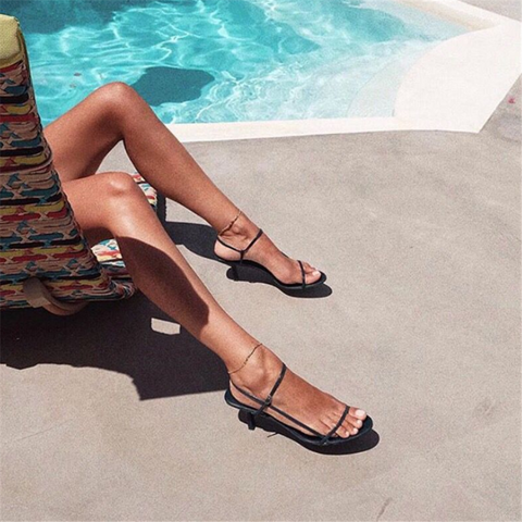 Fashion Open Toe High Heel Sandals