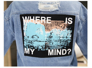 Jaqueta Street Style Where is my mind