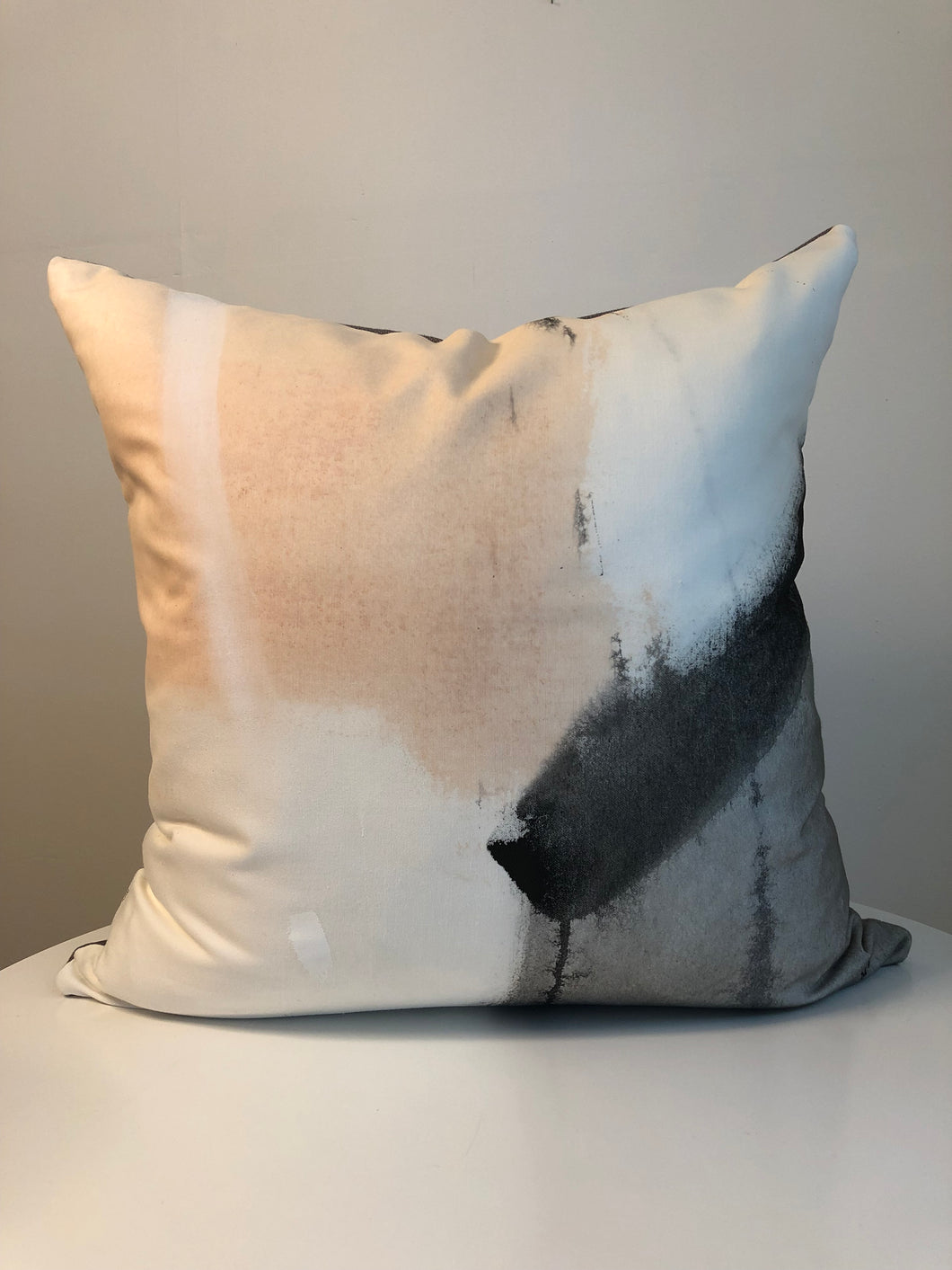 Hand Painted Cushion Cover - Peachy 1R