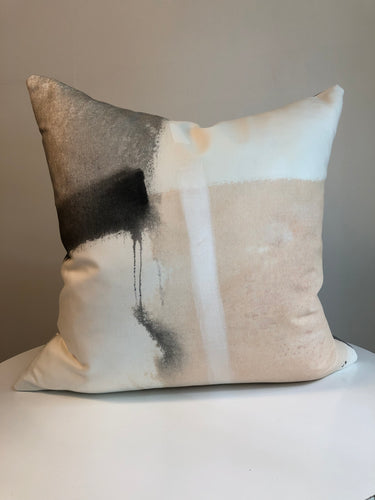 Hand Painted Cushion Cover - Peachy 1L
