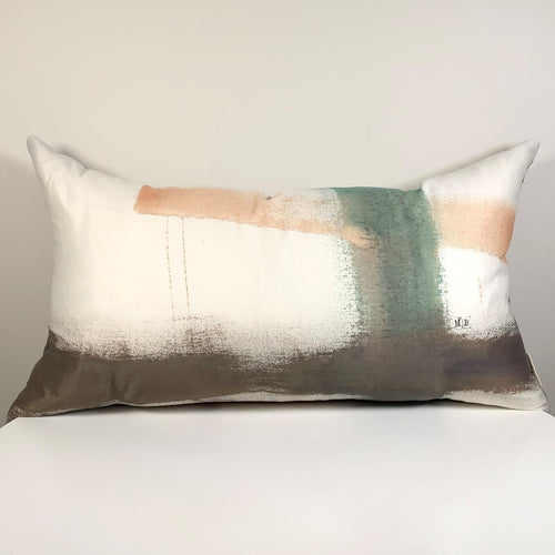 SALT-R Hand Painted Cushion Cover