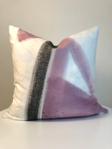 Hand Painted Cushion Cover - Framboise 1R