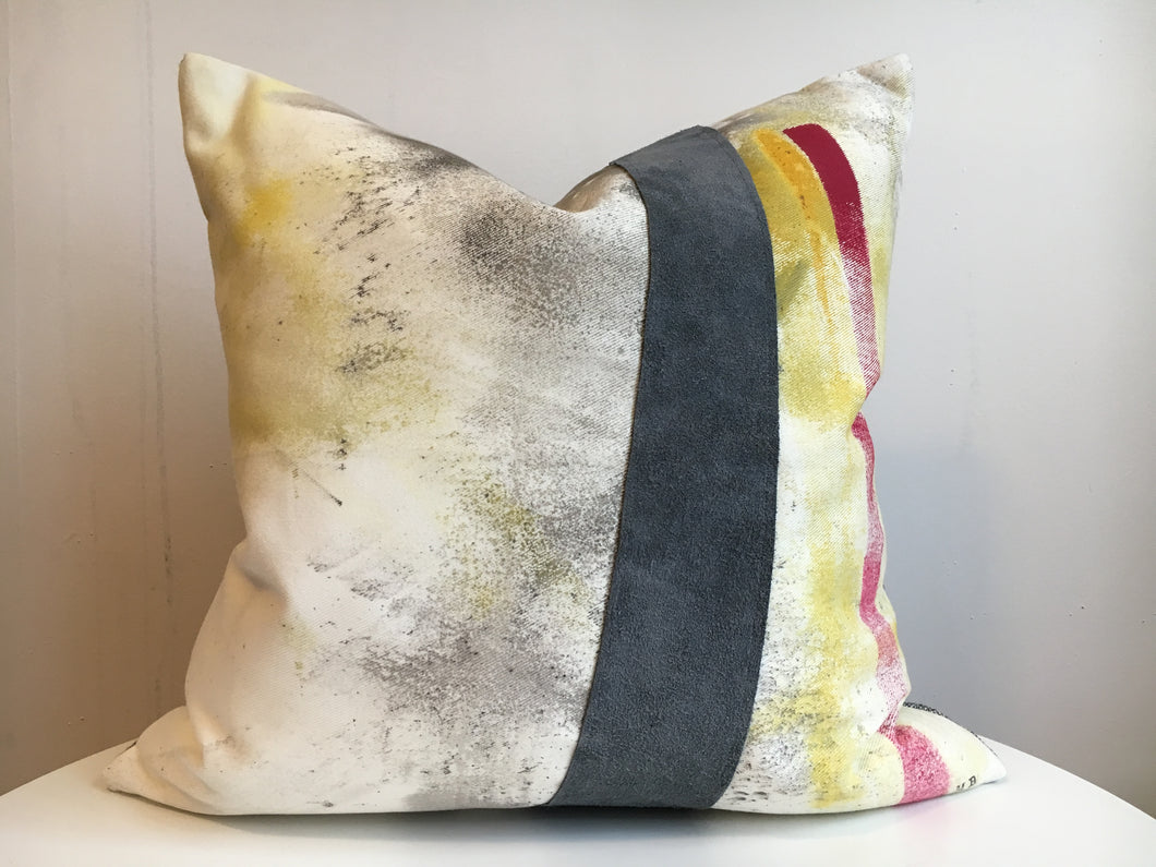 Hand Painted Cushion Cover - Chloe 2R