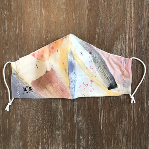 Hand Painted Face Mask 10