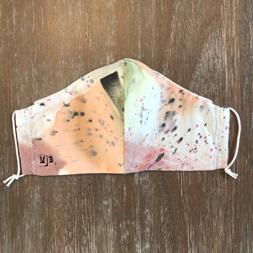 Hand Painted Face Mask 12