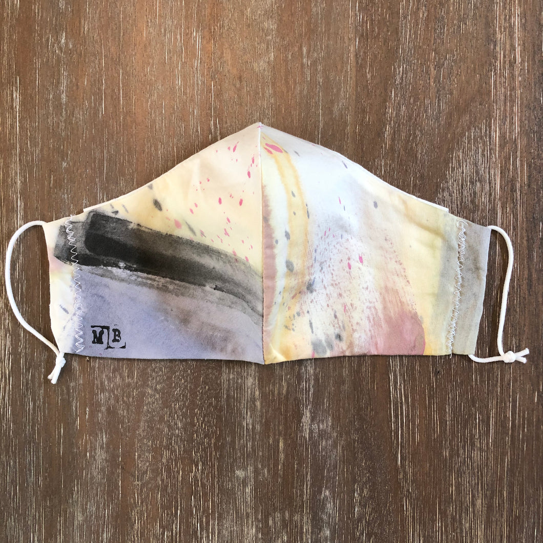 Hand Painted Face Mask 13