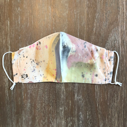 Hand Painted Face Mask 25