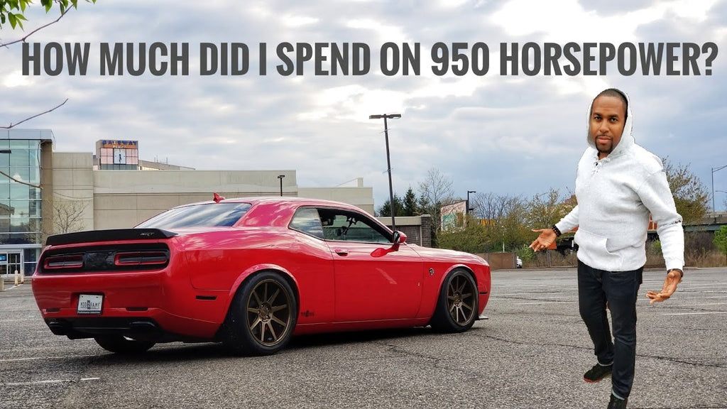 Exactly How Much It Costs To Build A 950 Horsepower Hellcat Challenger
