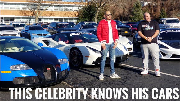 DJ Envy is about that car life in a $300k Ferrari : PCBlast Car Rally