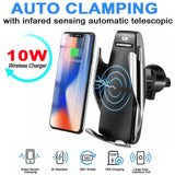 Infrared Sensor Automatic Clamp Wireless Charger