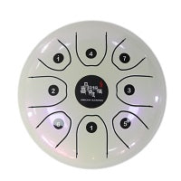 Tongue Drum - 5.5 inch Small Size Steel Drum with C D E F G A B C 8 Notes