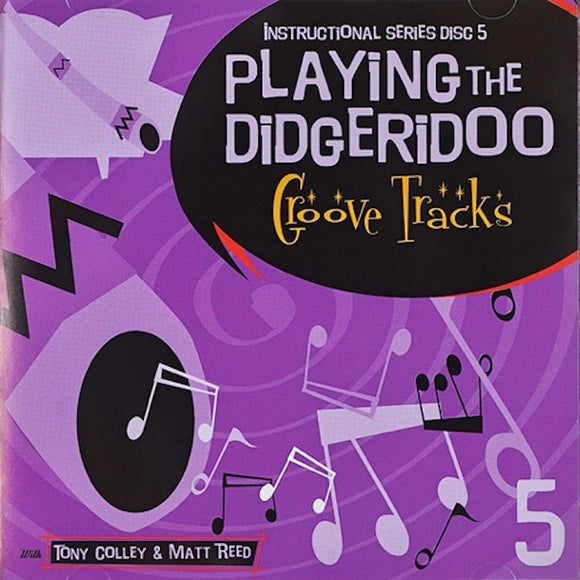 playing the didgeridoo cd 5 rhythm tracks