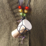 djembe drum necklace