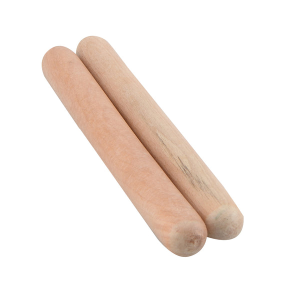 unpainted wood clapsticks