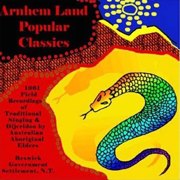 arnhemland popular classics cd
