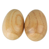 wooden egg shakers