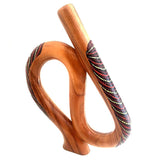 didgeridoo exotic mahogany wood