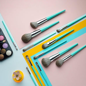 AURORA COLLECTION | 12- Piece Makeup Brush Set - Lemeri Beauty