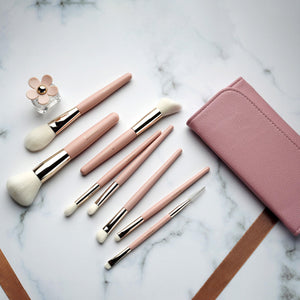 POLLY COLLECTION BRUSH SET 8PCS - Lemeri Beauty