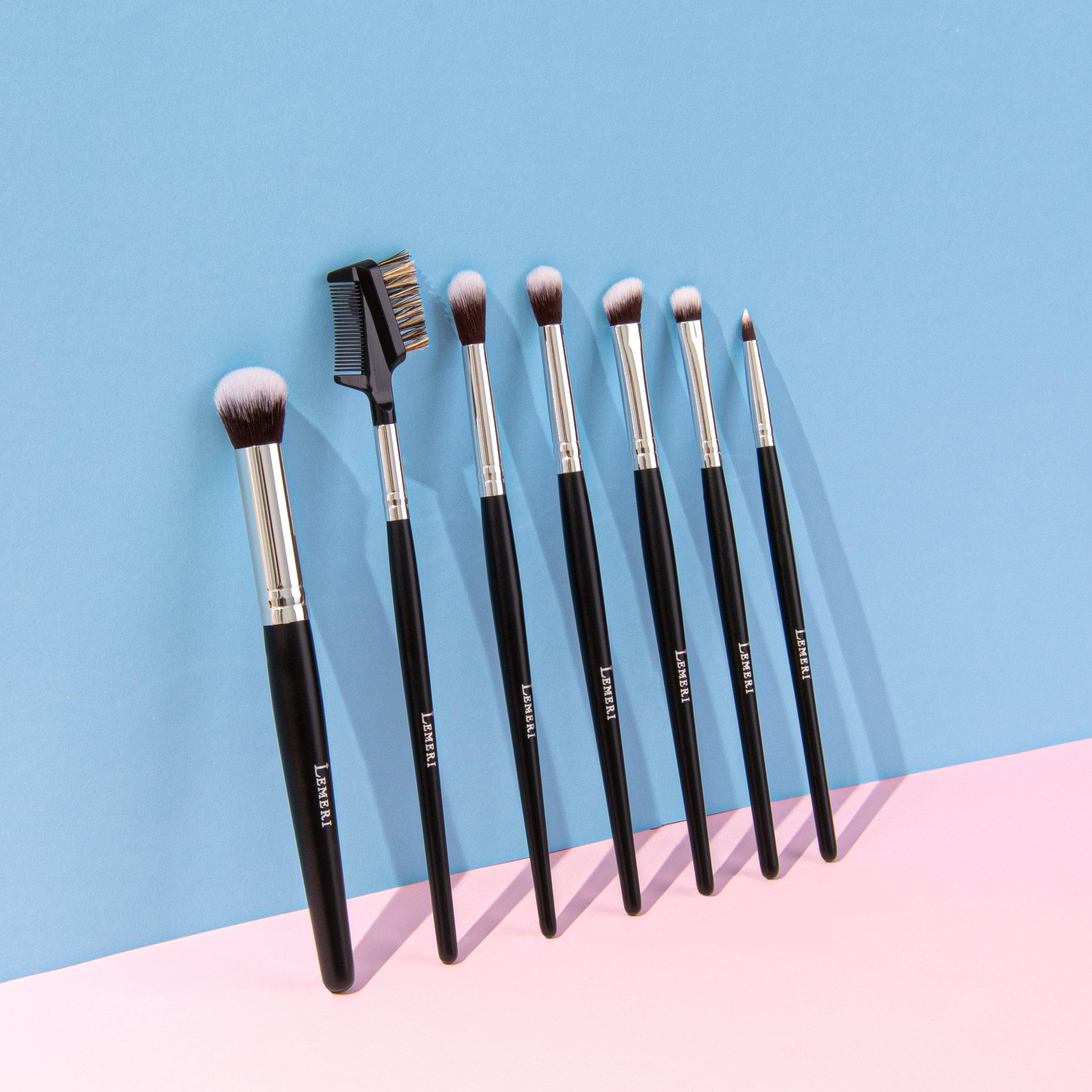 PHOENIX FLAME COLLECTION | 9-Piece Makeup Brush Set - Lemeri Beauty