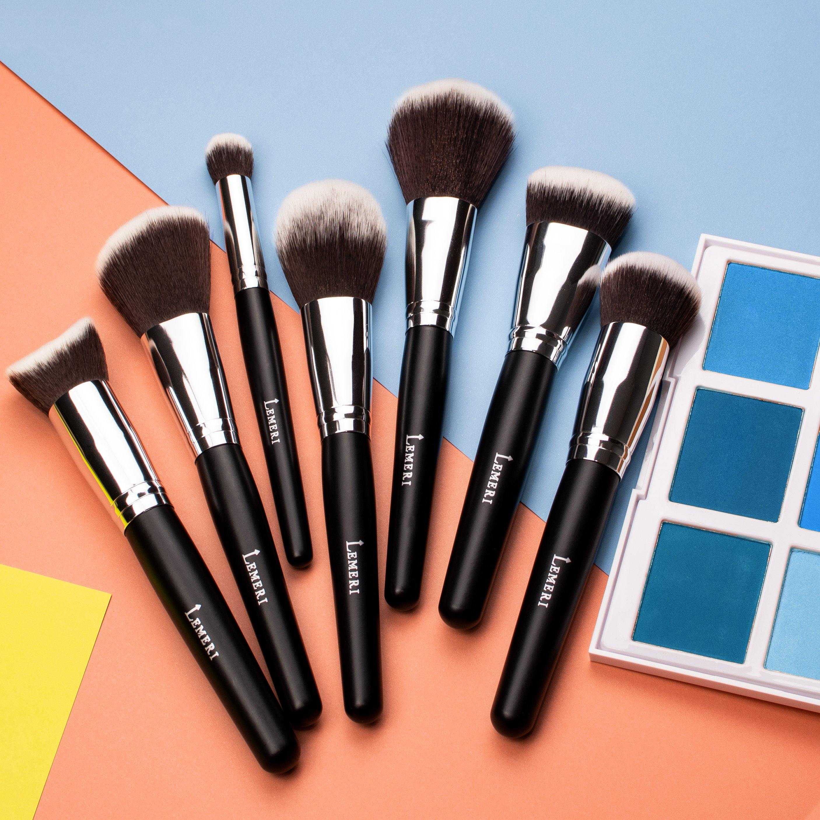 Face Makeup Brush Set 7pcs - Lemeri Beauty