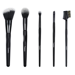 Glowing Brush Set 5pcs - Lemeri Beauty
