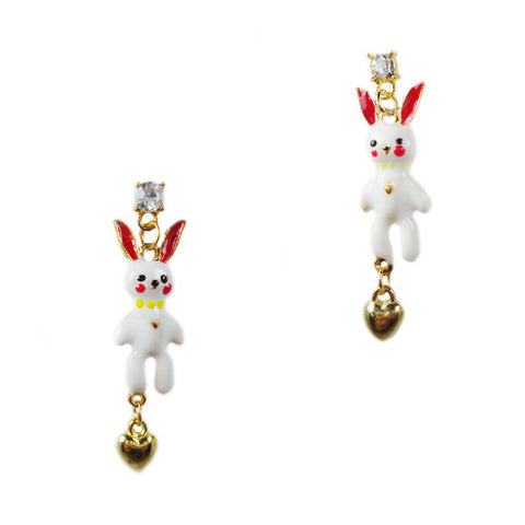 Mr. Bunny Stud Earrings